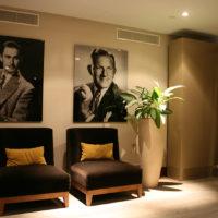 Rookruimte in Hilton hotel te Den Haag