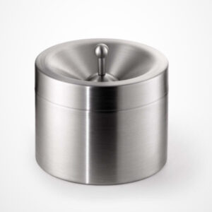 Table ashtray stainless steel